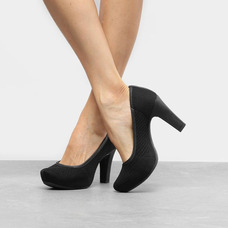 e75d85faac Scarpin Dakota B5901 Preto Feminino - Sapatos no Mercado Livre Brasil