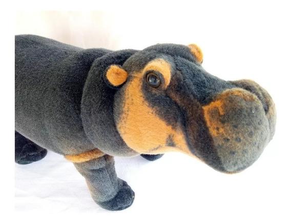 Hipopótamo Pelúcia Realista