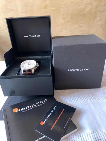Reloj Hamilton De Hombre. Jazzmaster Maestro Cronógrafo
