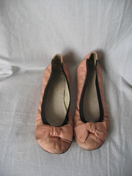 Ballerinas Jazmin Chebar , N° 40, Cuero