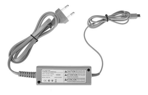 Cargador Adaptador Fuente Corriente Compatible Wiiu Gamepad