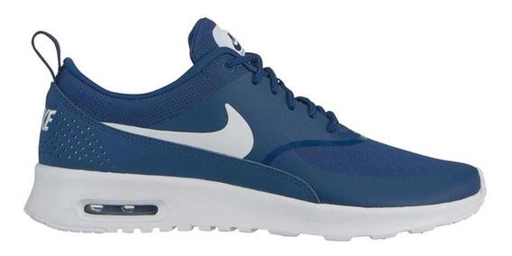 Tenis Nike Air Max Thea Azul - Unisex - 599409-422