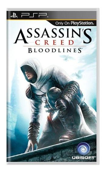 Assassins Creed Bloodlines Psp Mídia Física Pronta Entrega