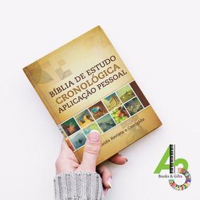 Lr17 Bíblia De Estudo Cronológica Aplicação Pessoal