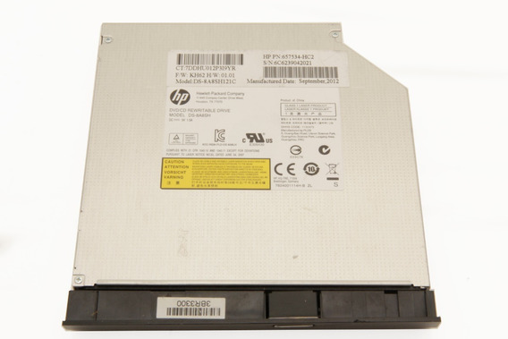 Gravador Cd Dvd Rw Notebook Hp G4 Series Ds-8a8sh