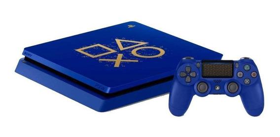 Sony PlayStation 4 Slim 500GB Days of Play Limited Edition azul