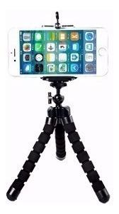 Mini Tripé Flexível Para Celulares Câmeras Digitais