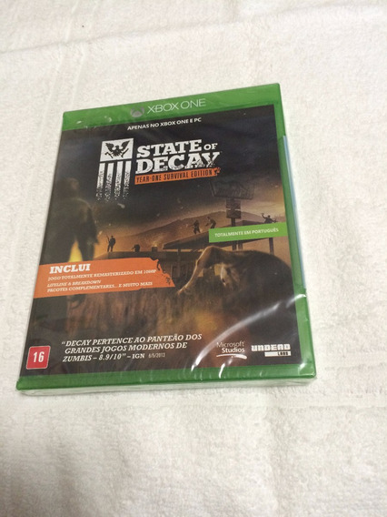 State Of Decay (year-one Survival Edition) - Lacrado-em Port