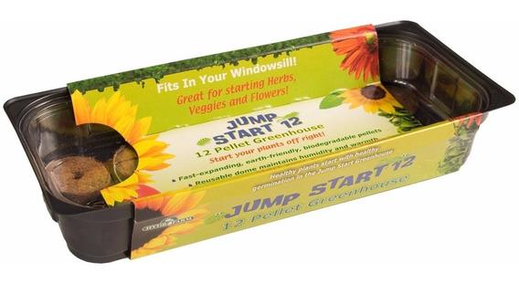 Estufa Germinação Jump Start Com 12 Células - Cultivo Indoor