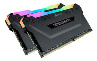 Memoria Dram Ddr4 16gb (2x8gb) 3000 Mhz Corsair Rgb Pro