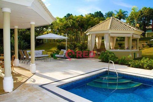 Imagem 1 de 30 de Linda Casa Com 4 Dormitórios À Venda, 700 M² Por R$ 5.000.000 - Condomínio Residencial Santa Maria - Sorocaba/sp - Ca0523