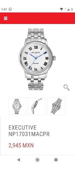 Reloj Nivada Executive Npy17031