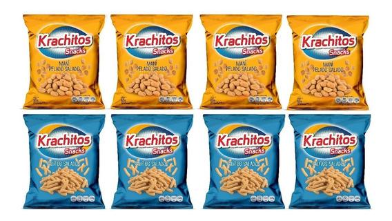 Packs Snacks Krachitos 65g X8u