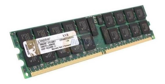 Memoria Kingston 2gb Ddr2 400mhz Server Ram Kvr400d2d4r3/2gi