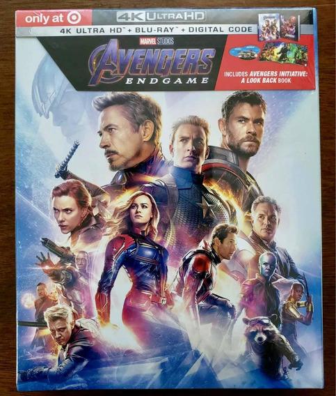 Avengers Endgame Special Ed. Target (4k/uhd+bu Ray+digital)