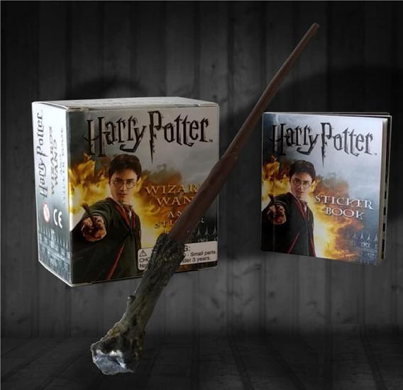 Kit Livro + Varinha - Harry Potter Wizards Wand Sticker