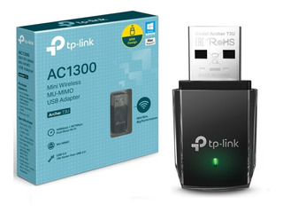 Adaptador Tp-link Archer T3u Usb Wifi Dual Band Ac1300