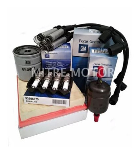 Kit Filtros+bujías+cables-corsa 1.6 8v Originales Gm