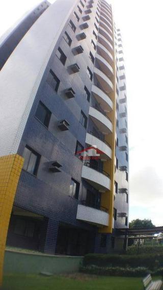 Apartamento Com 3 Dormitórios À Venda, 65 M² Por R$ 316.000 - Fátima - Fortaleza/ce - Ap0619