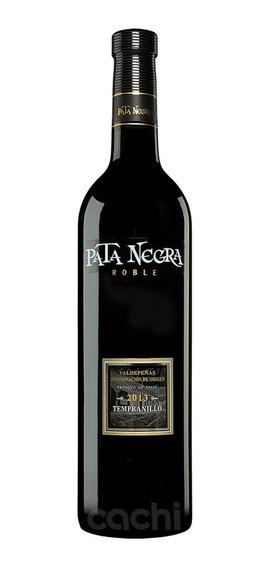 Vino Español Pata Negra Roble Tempranillo