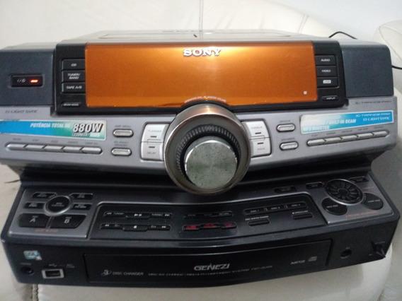 System Sony Zux9 Com Defeito E Controle Original