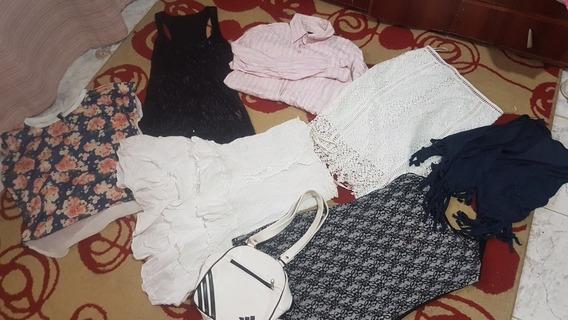 Lote De 27 Prendas+insumos Uñas,jeans,vestidos,carteras,zapa