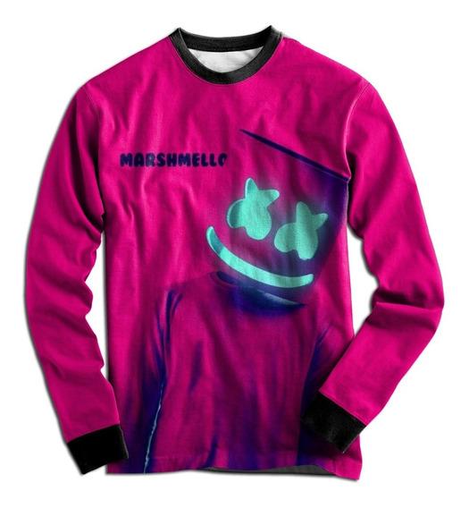 Casaco Blusa Moletom Dj Marshmello Neon Pop Tumblr Mt