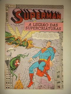 Superman 67 Terceira Serie Editora Ebal 1969 Otima