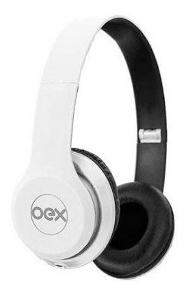 Fone Ouvido Headset Barato Headphone Style Hp103 Branco Oex