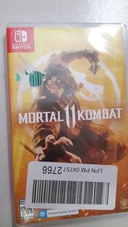 Juego Nintendo Switch Mortal Kombat 11