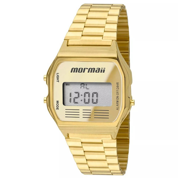 Relógio Mormaii Maui Unissex Mojh02ab/4d Original Barato