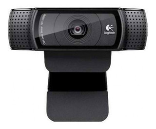 Camara Web Logitech Hd Pro C920, 15 Mp, 1080p Widescreen Vid