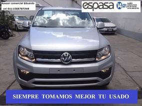 Volkswagen Vw Amarok Trendline 4x2 C/d 140 Cv + Sen Est Es