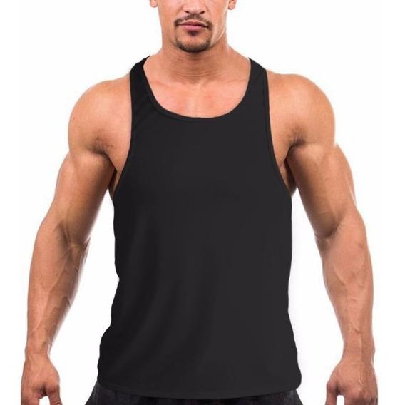 Kit 5 Regata Masculina Academia Musculação Cavada Fitness!