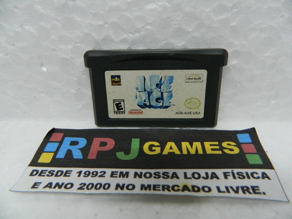 Ice Age A Era Do Gelo Original Gba Game Boy Advance - Loja