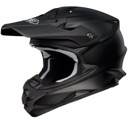 Casco Motocross Enduro Shoei Vfx-w Negro Mate 6 Cuotas