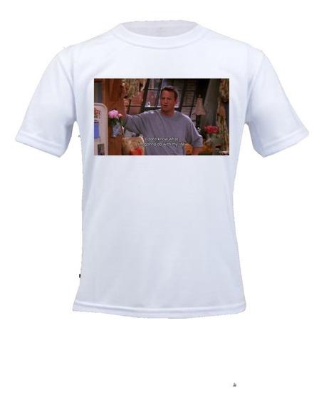 Camiseta Friends - Chandler