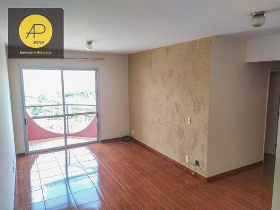 Apartamento Com 3 Dormitórios Para Alugar, 83 M² - Jardim Armênia - Mogi Das Cruzes/sp - Ap0215