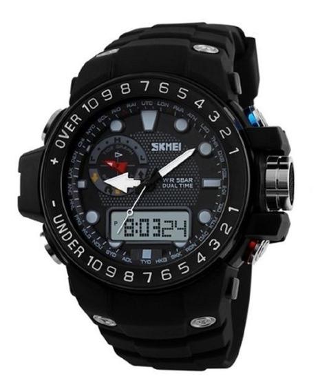 Relógio Masculino Skmei Led Anadigital 1063