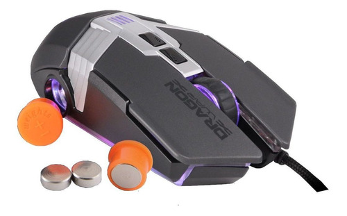 Imagem 1 de 7 de Mouse Gamer Pro Rgb 7000dpi Ajuste De Peso Anti Recuo (pubg)