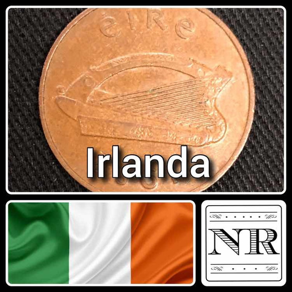 Irlanda - 2 Pingin - Año 1982 - Km # 21- Vf - Arpa Irlandesa