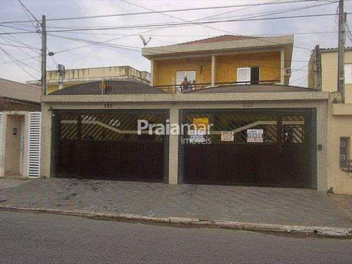 Imagem 1 de 30 de Sobrado 4 Dorm    1 Suite I 3 Vagas   130 M²    Vila Cascatinha I São Vicente - 1225