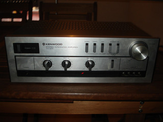 Amplificador Stereo Kenwood Ka-300 Made In Japan! Excelente!
