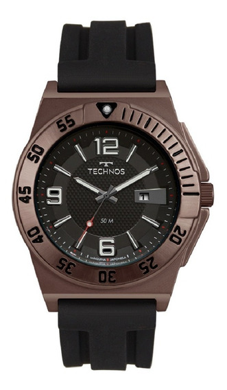 Relógio Technos Masculino Racer 2117lbk/8p Chocolate Lançamento