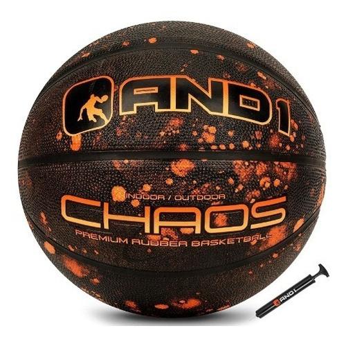Balón De Basquet And1 Chaos Baloncesto # 7 + Inflador
