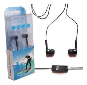 Fone Ouvido Intra-auricular C/ Microfone Ip11 Preto Oletech