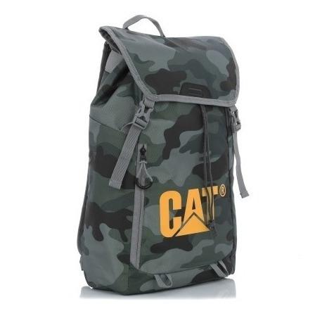 Mochila Caterpillar Cat Camuflage Cordon Ajustable Camping