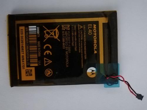 Bateria Moto E Original