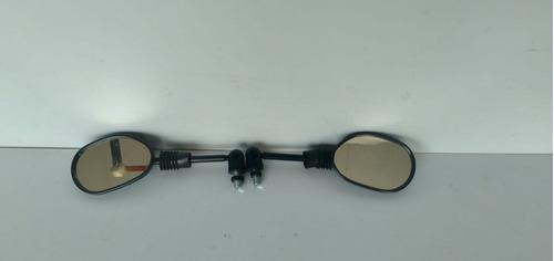Imagem 1 de 9 de Espelho Retrovisor Articulado Mini Modelo Biz 125 ( Par )