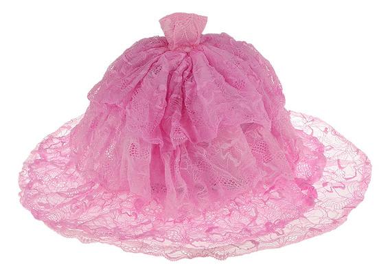 Moda Rosa Noiva Vestido De Festa De Casamento Roupas W / Lon